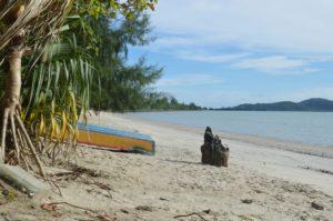 Severně od Pantai Cenang