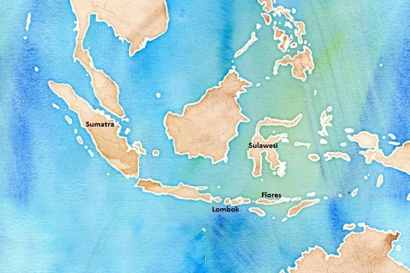 Srovnání indonéských ostrovů