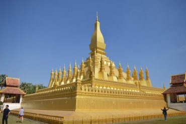 Krátká přestávka ve Vientiane